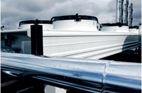 HVAC units on roof